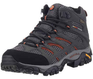 Merrell Moab High Rise Hiking Shoes